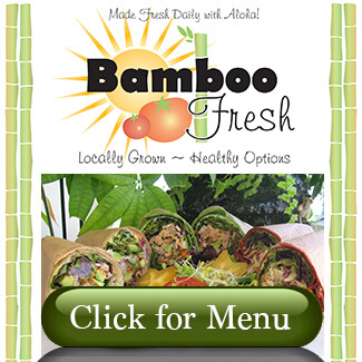 Bamboo Fresh Menu