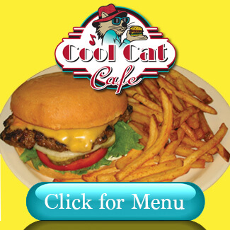 Cool Cat Cafe Menu