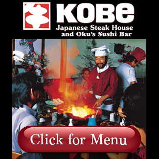 Kobe Steak House Menu