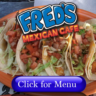Fred's Mexican Menu