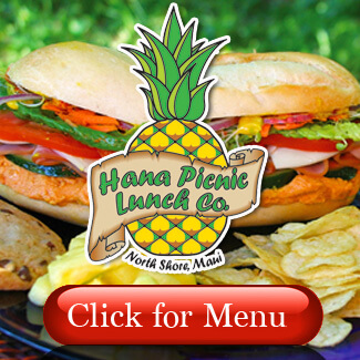 Hana Picnic Lunch Menu