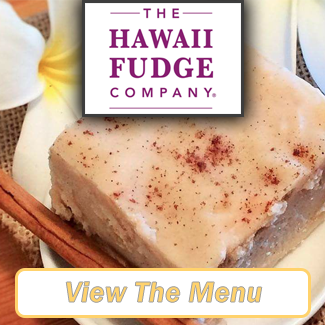 The Hawaii Fudge Company Menu