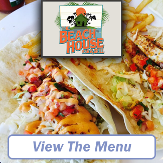 The Beach House Bar & Grill Menu